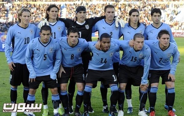 Uruguayan national football team players