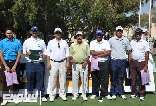 منتخب الجولف السعودي في مشاركة سابقة