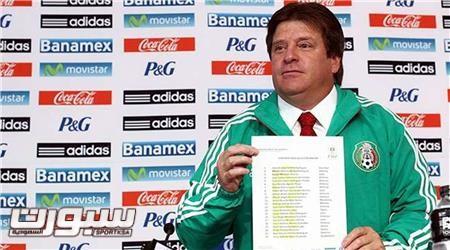 ميجيل هيريرا مدرب المكسيك
