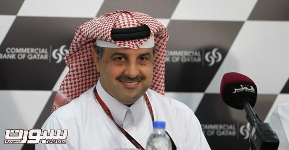 ناصر بن خليفه العطبه نائب رئيس الأتحاد الدولي للسيارات