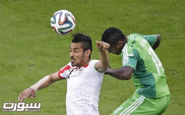Brazil Soccer WCup Iran Nigeria