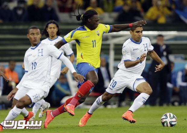 Brazil Soccer WCup Honduras Ecuador