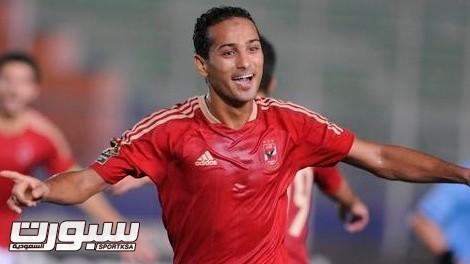 Egyptian club Al-Ahly's Walid Soliman ce