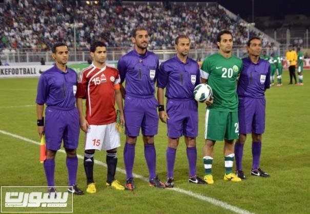 ياسر المنتخب السعودي اليمني