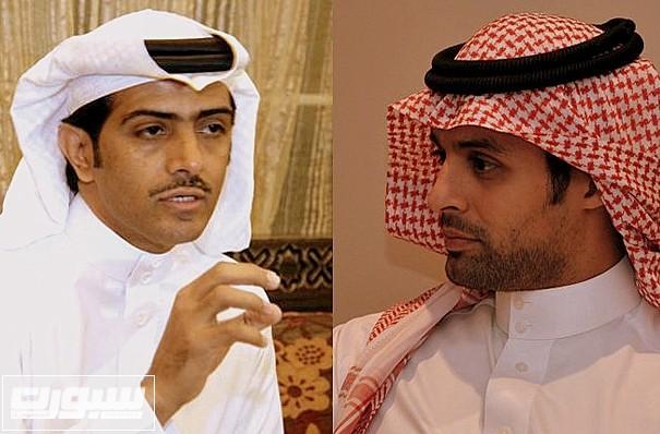 ياسر القحطاني وفهد الهريفي