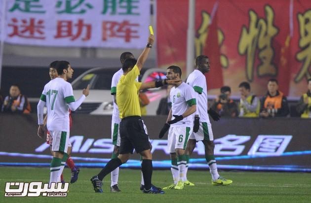 المنتخب السعودي و الصين (3)  - نسخة