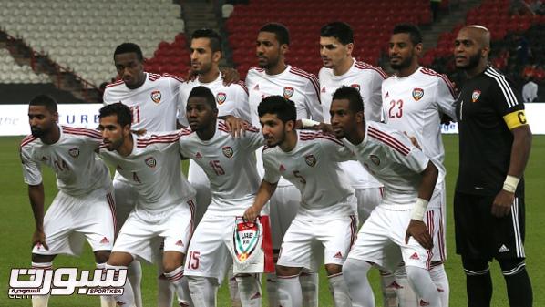 الإمارات تعلن تشكيلتها الرسمية لخليجي 22