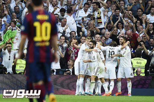 ريال مدريد و برشلونة