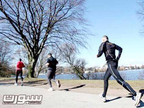 الرياضة الجري