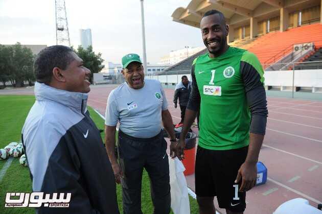 المنتخب السعودي- تدريب-1