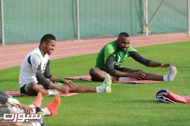 المنتخب السعودي- تدريب-10
