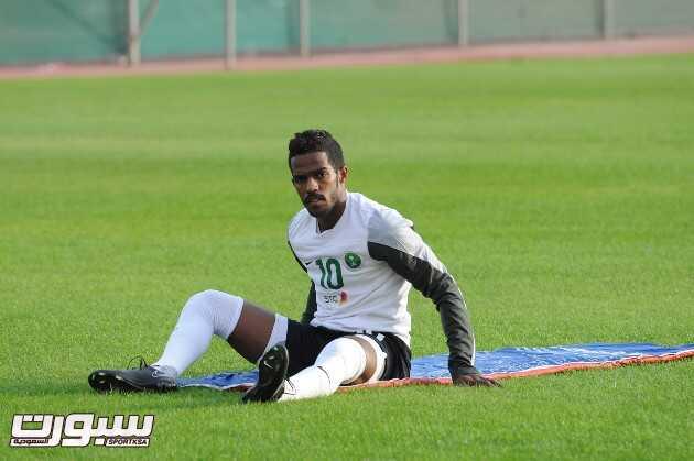 المنتخب السعودي- تدريب-11