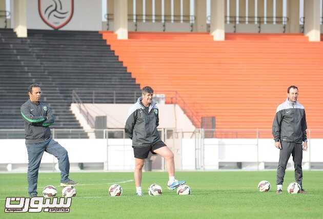 المنتخب السعودي- تدريب-18