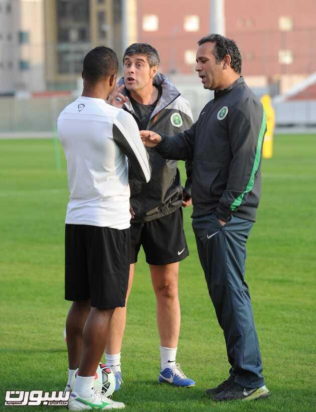 المنتخب السعودي- تدريب-3