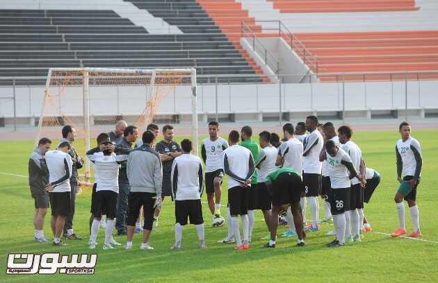 المنتخب السعودي- تدريب-4