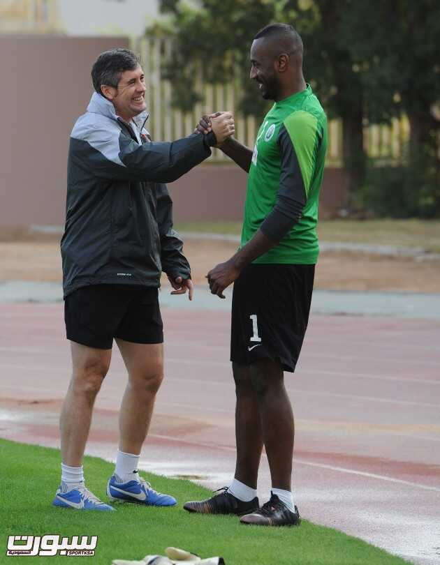 المنتخب السعودي- تدريب-5