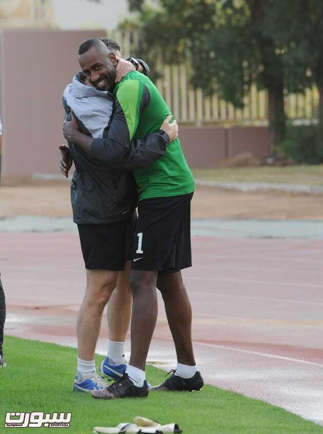 المنتخب السعودي- تدريب-6