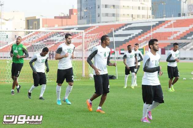 المنتخب السعودي- تدريب-7