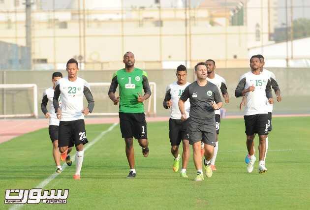 المنتخب السعودي- تدريب-8