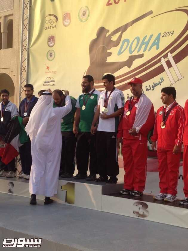 تتويج المنتخب السعودي اولا
