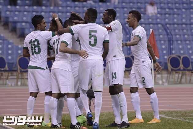 فرحة المنتخب السعودي (1)