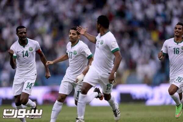 فرحة المنتخب السعودي (2) 
