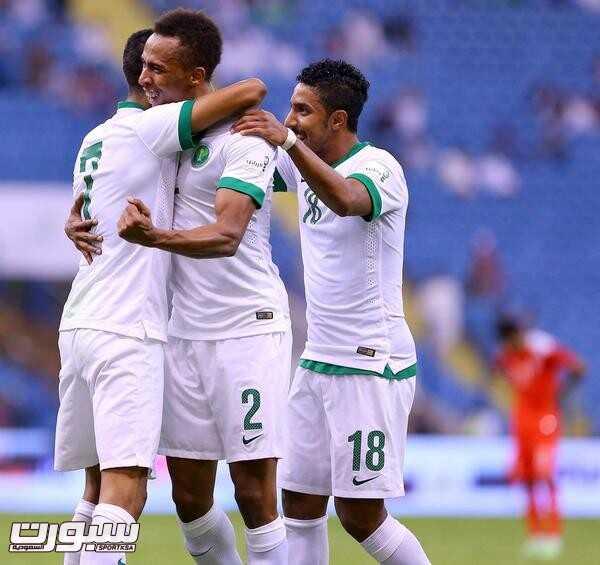 فرحة المنتخب السعودي (3) 