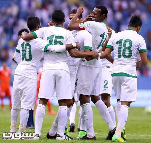 فرحة المنتخب السعودي (4) 