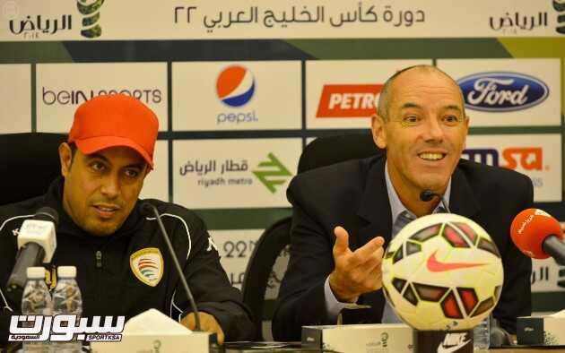 كأس الخليج العربي 22 مدرب منتخب عمان قدمنا مباراة جيدة مع الإمارات