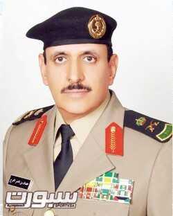 مدير الامن العام رئيس الاتحاد السعودي  للرماية  اللواء عثمان بن ناصر المحرج