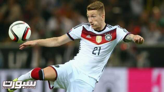 ريوس يغيب عن المنتخب الألماني بسبب الإصابة