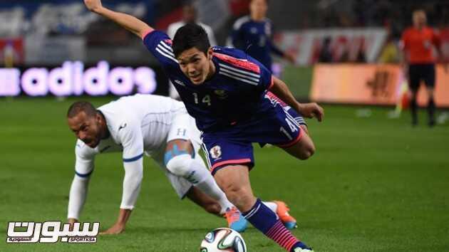 اليابان تسحق هندوراس في مباراة ودية