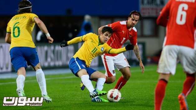 دونجا يحقق الفوز السادس مع البرازيل