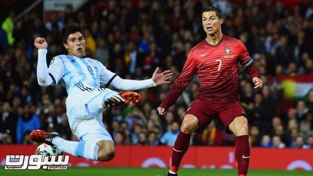 البرتغال تهزم الأرجنتين وديا