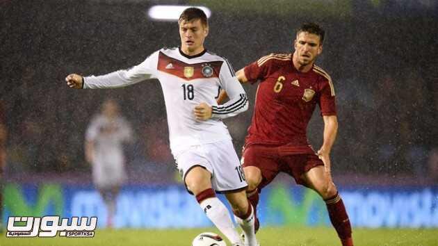 كروس يقود ألمانيا لفوز ودي على أسبانيا