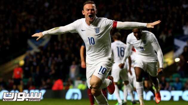 روني يقود إنجلترا للفوز على اسكتلندا