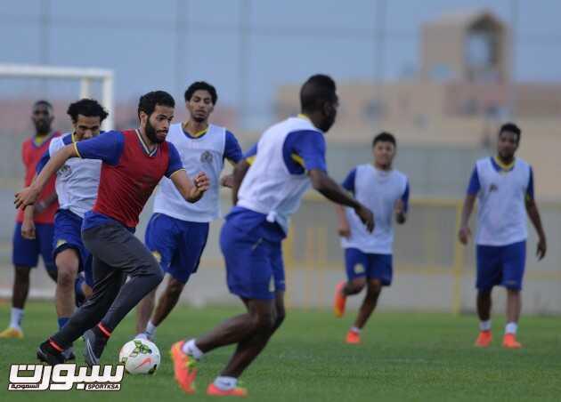 بالصور | النصر يواصل تدريباتة على فترتين واحتفالية بإنتهاء ايقاف عباس