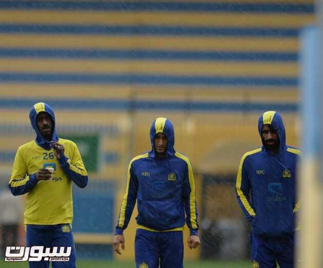 الرياح والامطار تلغي تدريبات النصر واتحاد السلة يقدم مواجهة النصر والهلال ( شباب )