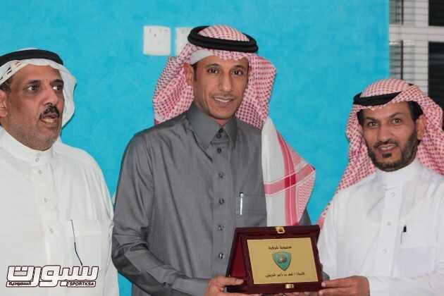 رئيس الأتحاد السعودي لكرة الطائره ( الحريشي ) ينضم لأعضاء شرف الكوكب