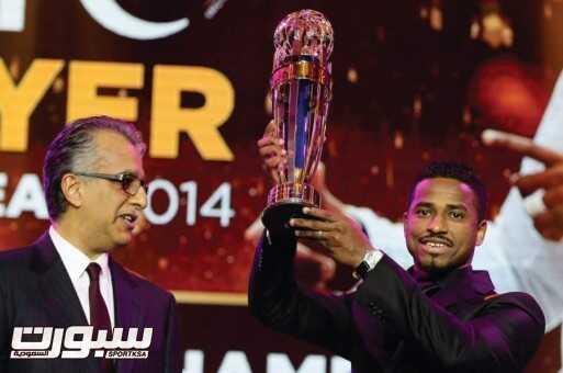 ناصر الشمراني افضل لاعب آسيوي