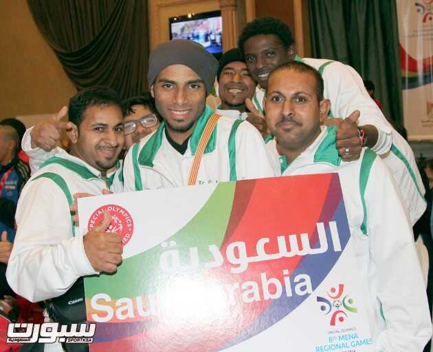 المنتخب السعودي للاحتياجات الخاصة يختتم مشاركته في الالعاب الاقليمية