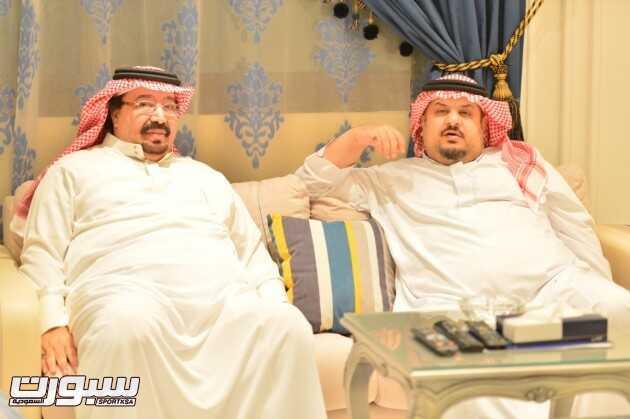 عبدالرحمن بن مساعد و بندر بن محمد