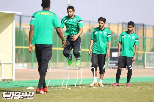 بالصور   العروبة يستعد للقاء الفتح بعودة المصابين