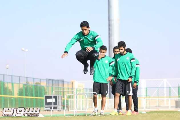 بالصور | العروبة يستعد للقاء الفتح بعودة المصابين