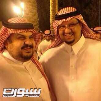 فيصل بن تركي و عبدالرحمن بن مساعد