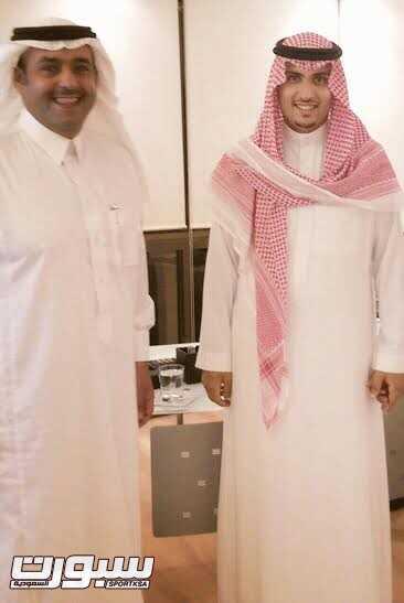 رئيس الرياض بجوار الموسى