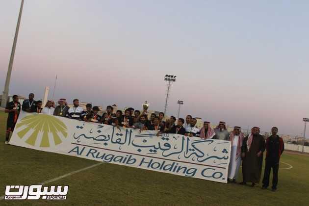 بالصور | نادي الوشم بطلاً لدوري شقراء .. ويتأهل لتصفيات الصعود