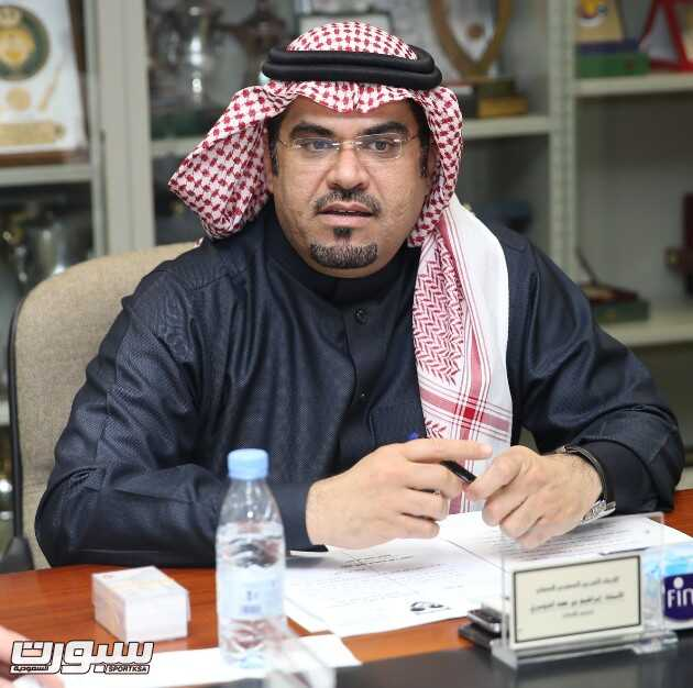 رئيس الاتحاد السعودي للسهام ابراهيم الدوسري