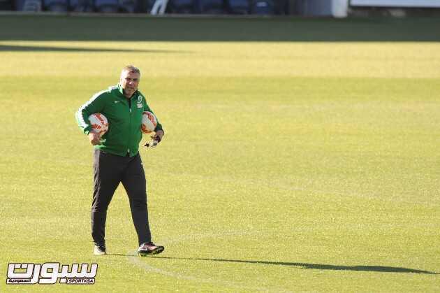 تدريبات الأخضر في استراليا