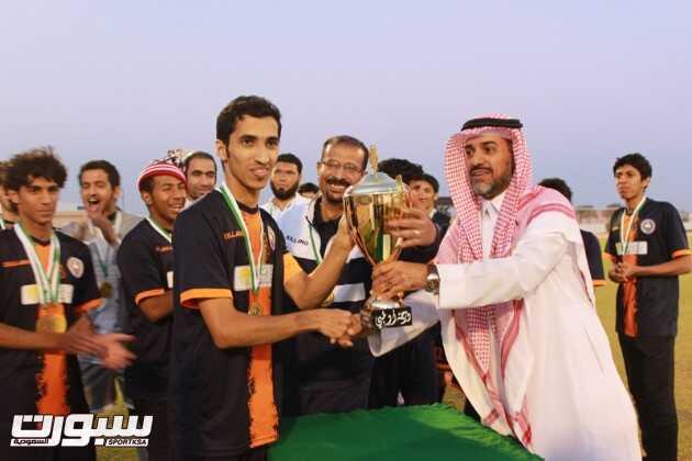 بالصور | الوشم يحقق بطولة أول دوري أولمبي في شقراء ويتأهل لتصفيات المملكة